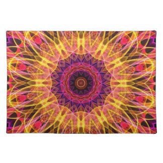 Gemstone Dream kaleidoscope Place Mat