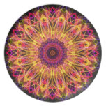 Gemstone Dream kaleidoscope Plates