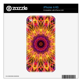 Gemstone Dream kaleidoscope Decals For The iPhone 4S