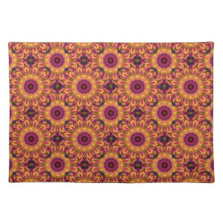 GemStone Dream mandala pattern Placemat
