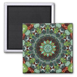Gemstone Mosaic Magnet