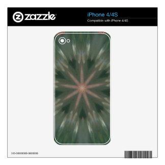 Gemstone Seashells Kaleidoscope Decals For iPhone 4S