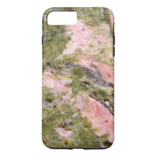 Gemstone Series - Pink and Green Thulite iPhone 7 Plus Case