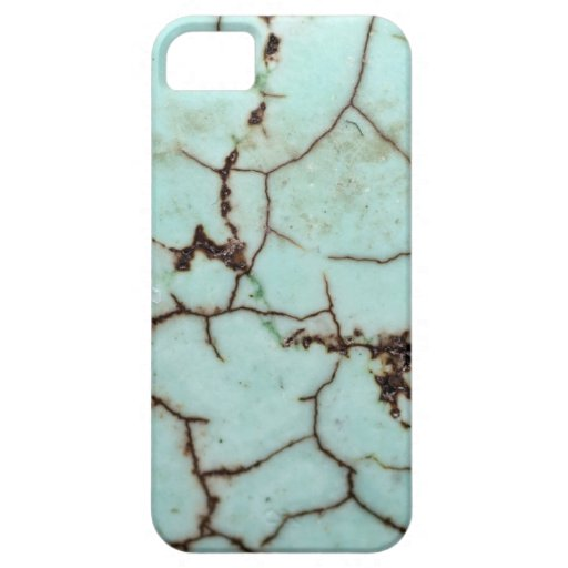 Gemstone Series - Turquoise Cracked iPhone 5 Cover
