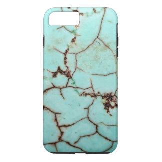 Gemstone Series - Turquoise Cracked iPhone 7 Plus Case
