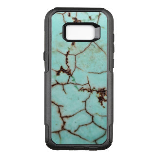 Gemstone Series - Turquoise Cracked OtterBox Commuter Samsung Galaxy S8+ Case