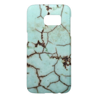 Gemstone Series - Turquoise Cracked Samsung Galaxy S7 Case