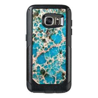 Gemstone Series - Turquoise Mosaic OtterBox Samsung Galaxy S7 Case