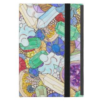 Gemstones and geodes iPad mini cases