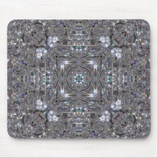 Gemstones - Diamonds - Emeralds Mouse Pad