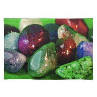 gemstones peace calm and joy placemat