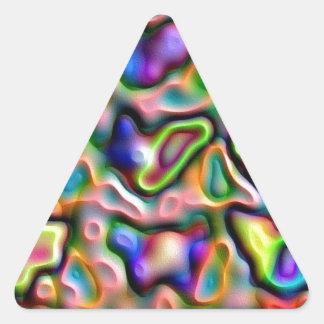 Gemstones Triangle Sticker
