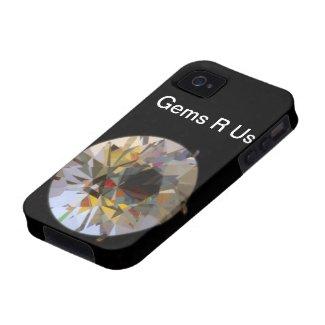 Gemstones Vibe iPhone 4 Cases