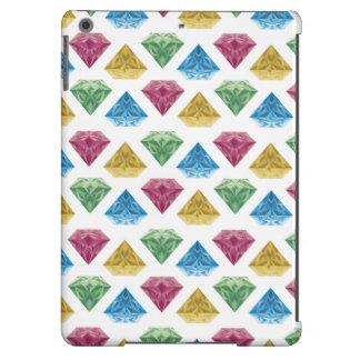 Gemstones white iPad air case