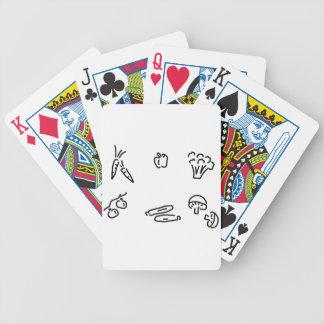 gemuese pilze cartas de juego