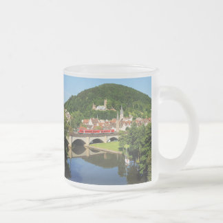 Gemünden at the Main bridge over the Frankish Frosted Glass Coffee Mug