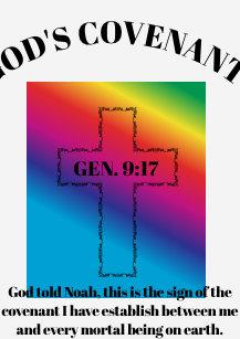 90c0da0b Rainbow Cross T-Shirts - T-Shirt Design & Printing   Zazzle