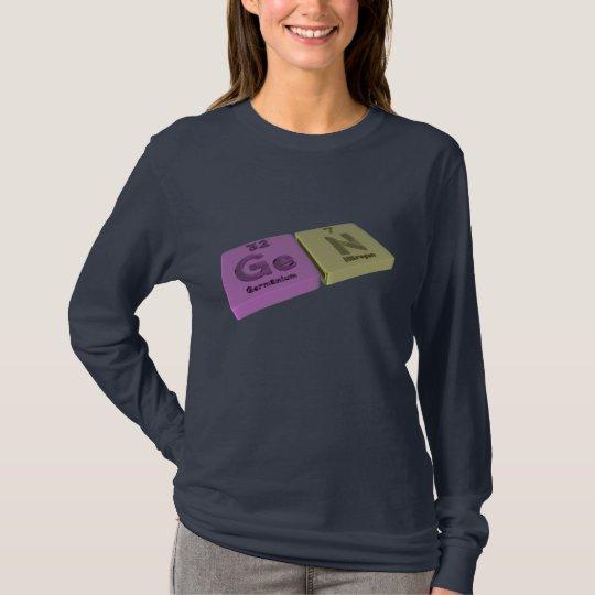 Gen as Ge Germanium and Ta Tantalum T-Shirt