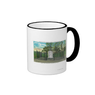 Gen Benedict Arnold's Left Leg Monument Ringer Coffee Mug