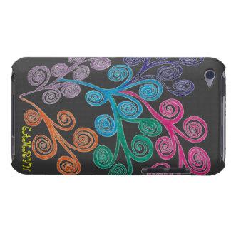 GEN CaseART - cáscara plástica del tacto de IPOD 4 iPod Case-Mate Cárcasas