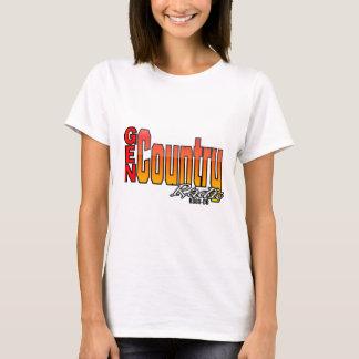 gen country ladies Vertical T-Shirt