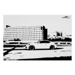 Gen Coupe Rolling Shot Print