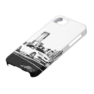 Gen Coupe with City Backdrop iPhone SE/5/5s Case