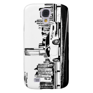 Gen Coupe with City Backdrop Samsung S4 Case