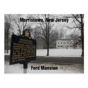 Morristown postcards zazzle gen george washingtons hq 1779 80 morristown nj postcard reheart Image collections