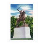 Gen John Stark Statue View Postcard
