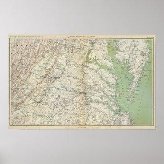 Gen map II Print