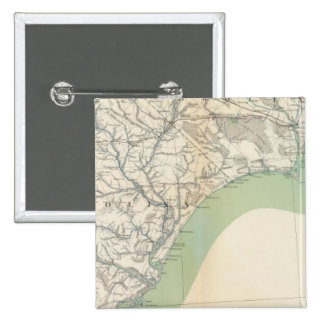 Gen map IV 2 Inch Square Button