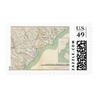 Gen map IV Postage Stamps