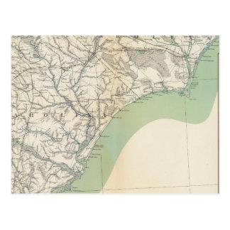 Gen map IV Postcard