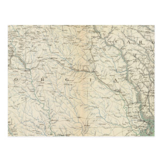 Gen map IX Postcard