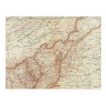 Gen map VII Postcard