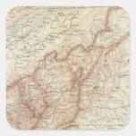 Gen map VII Square Sticker