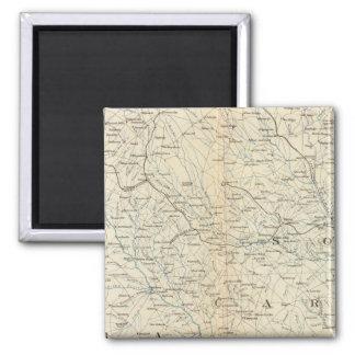 Gen map VIII 2 Inch Square Magnet