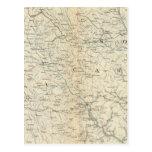 Gen map VIII Post Card