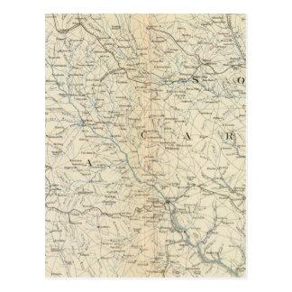 Gen map VIII Postcard
