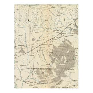Gen map X Postcard