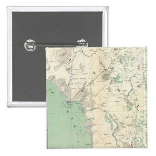 Gen map XI 2 Inch Square Button
