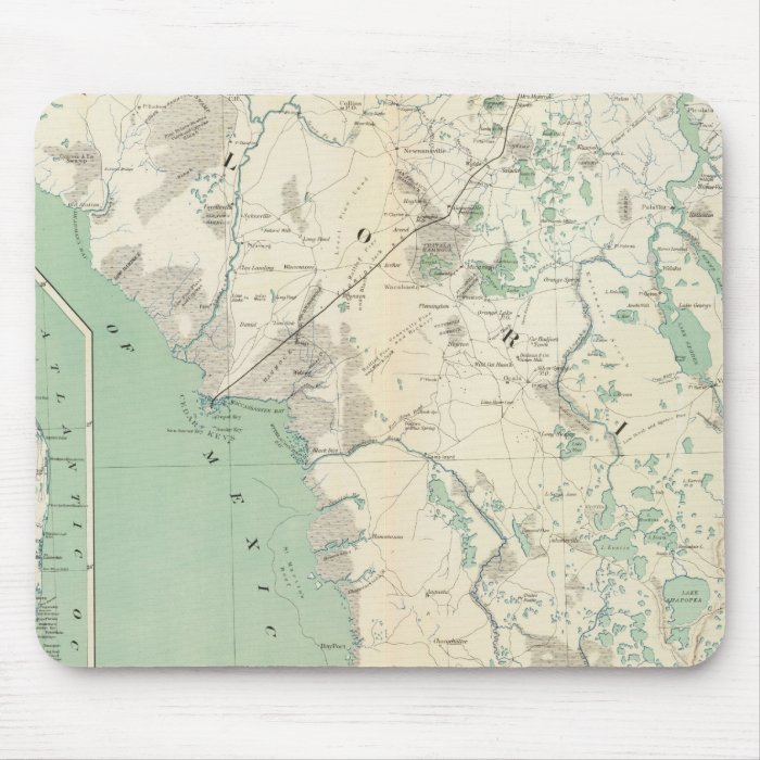 Gen map XI Mouse Pad
