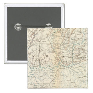 Gen map XIII 2 Inch Square Button