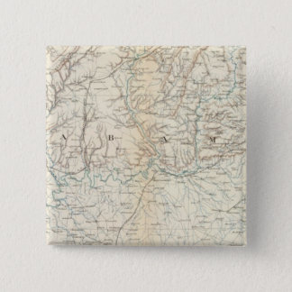 Gen map XIII Pinback Button