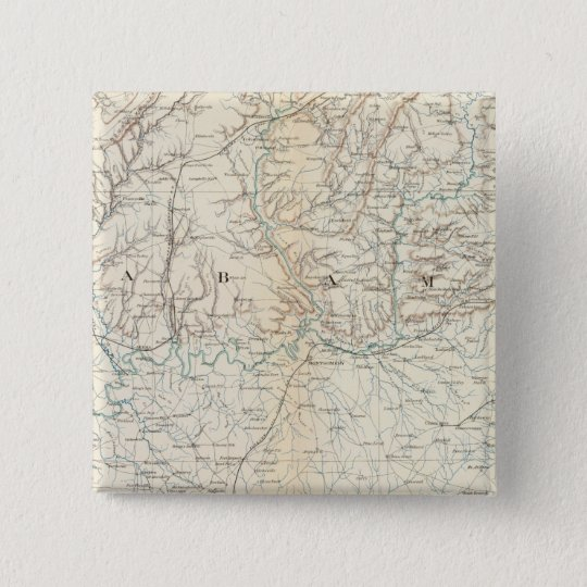 Gen map XIII Pinback Button