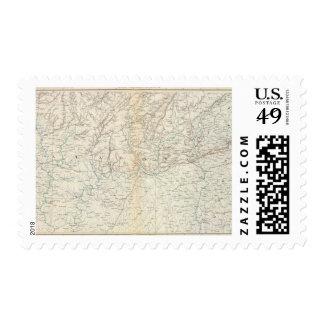 Gen map XIII Postage Stamp