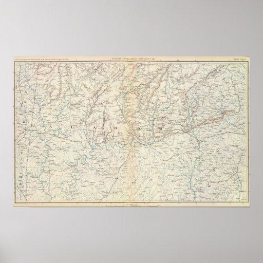 Gen map XIII Poster