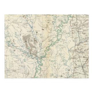 Gen map XIX Post Card