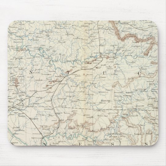 Gen map XV Mouse Pad